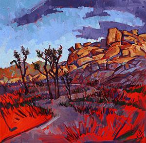 Erin Hanson's oil painting