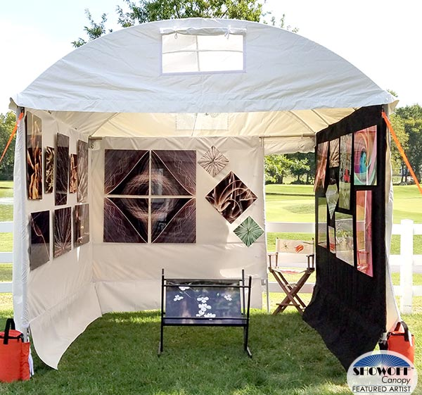 Lynn Lees' photography in her SHOWOFF Canopy