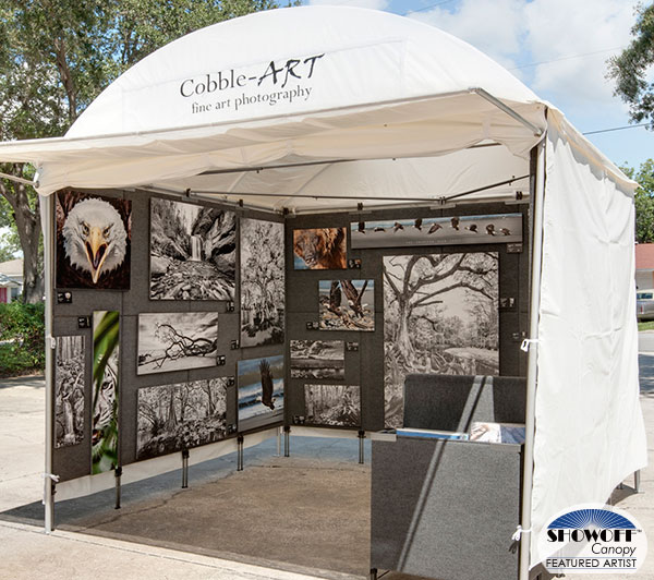 SHOWOFF Canopy Featured Artist: Jeffrey and Michelle Cobble