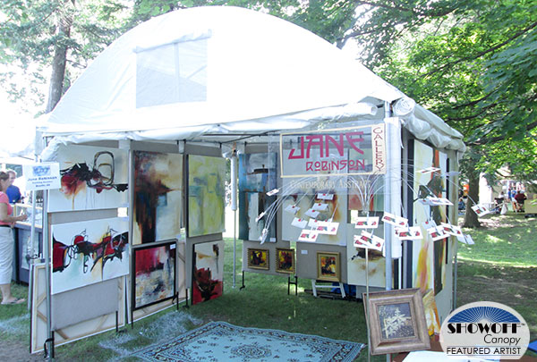 SHOWOFF Canopy Featured Artist: Jane Robinson
