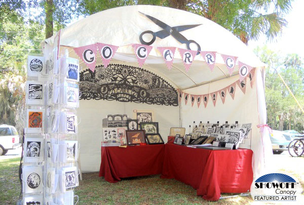 SHOWOFF Canopy Featured Artist: Kathryn Carr