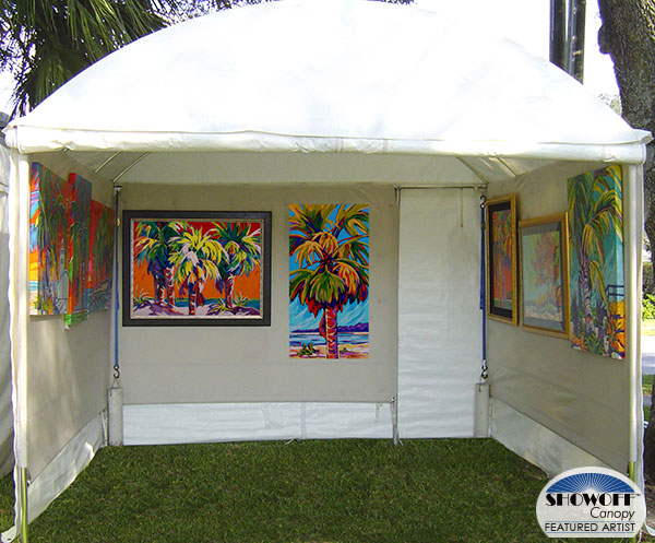 SHOWOFF Canopy Featured Artist: Sally Evans