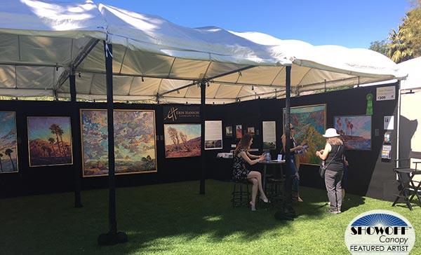 SHOWOFF Canopy Returning Featured Artist: Erin Hanson