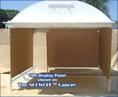 10 ft. Canvas Display Panel Wall For SHOWOFF