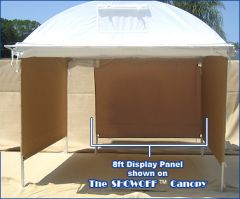 8 ft. Moveable Canvas Display Panel Wall For SHOWOFF