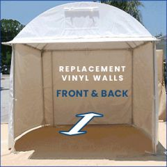 Replacement Front or Back Walls for SHOWOFF Art Canopy
