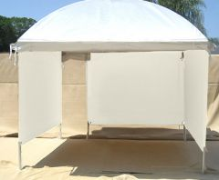 SHOWOFF Art Canopy with 3 Display Panel Walls